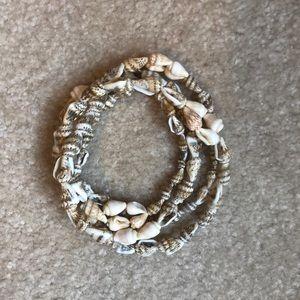 Jewelry - Shell Wrap Around Bracelet